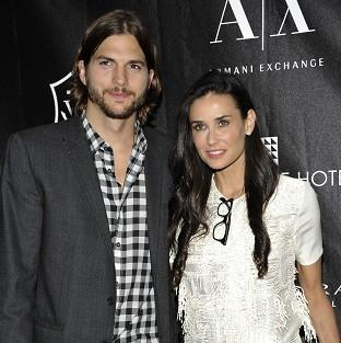 Ashton Kutcher and Demi Moore are to divorce (AP/Evan Agostini)