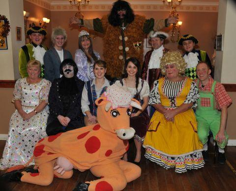 The cast of Bridgwater Pantomime Society's Jack in the Beanstalk. PHOTO: Jeff Searle