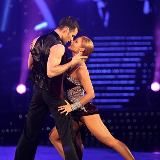 The new bride of 2011's Strictly Come Dancing champ Harry Judd was unable to sleep on the eve of their wedding