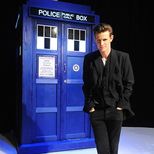 Matt Smith, star of Doctor Who, is nominated for an NTA