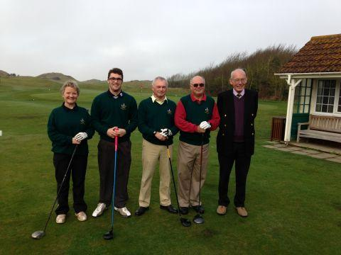 Burnham and Berrow Golf Club's Captain's Drive