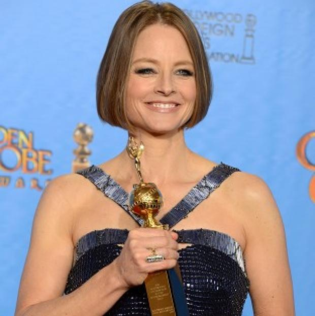 Jodie Foster accepted a lifetime achievement award at the Golden Globes