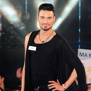 Rylan Clark has been leaving the house to prepare for the X Factor tour