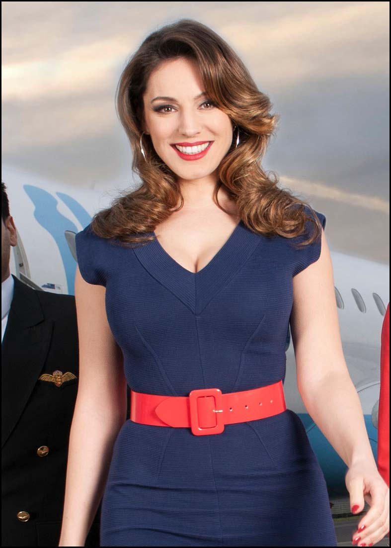 Burnham and Highbridge Weekly News: Kelly Brook for Sky Go Extra.JPG
