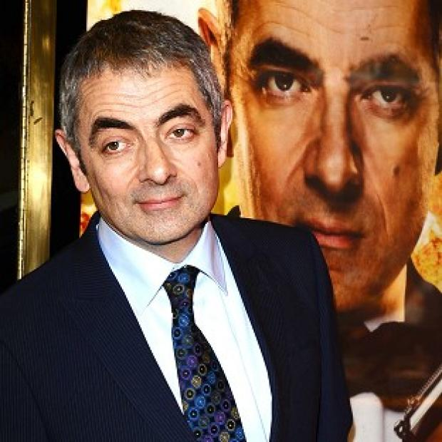 Burnham and Highbridge Weekly News: Rowan Atkinson suffered a shoulder injury in the crash