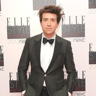 Nick Grimshaw hosted the 2013 Elle Style Awards