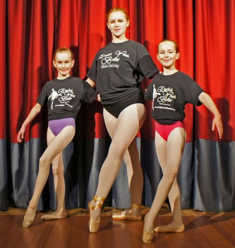 Ballerinas take centre stage at The Playhouse Theatre, Weston