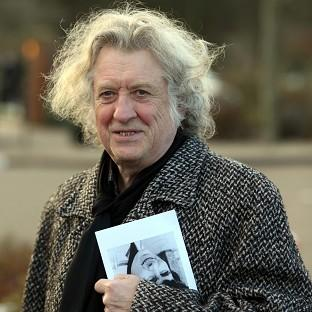 Noddy Holder attended the funeral of Troggs frontman Reg Presley