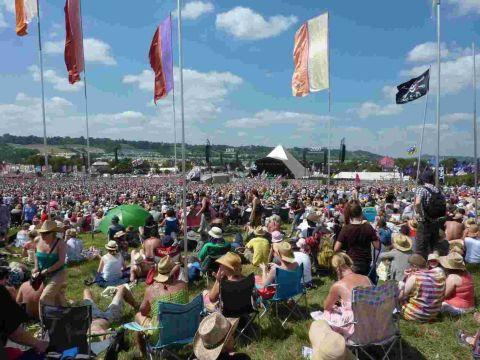 Glastonbury Festival back up and running after power out