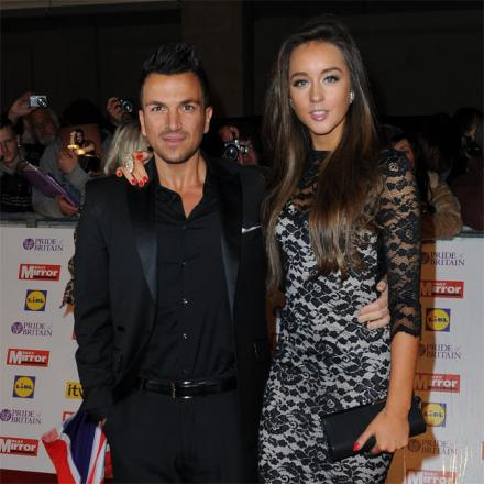 Peter Andre and Emily MacDonagh.