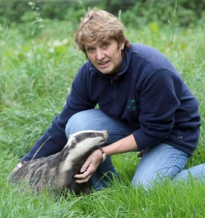 Pauline Kidner, founder of Secret World Wildlife Rescue, which has been leading a campaign against the badger culls in Somerset which were designed to prevent badgers spreading the disease.