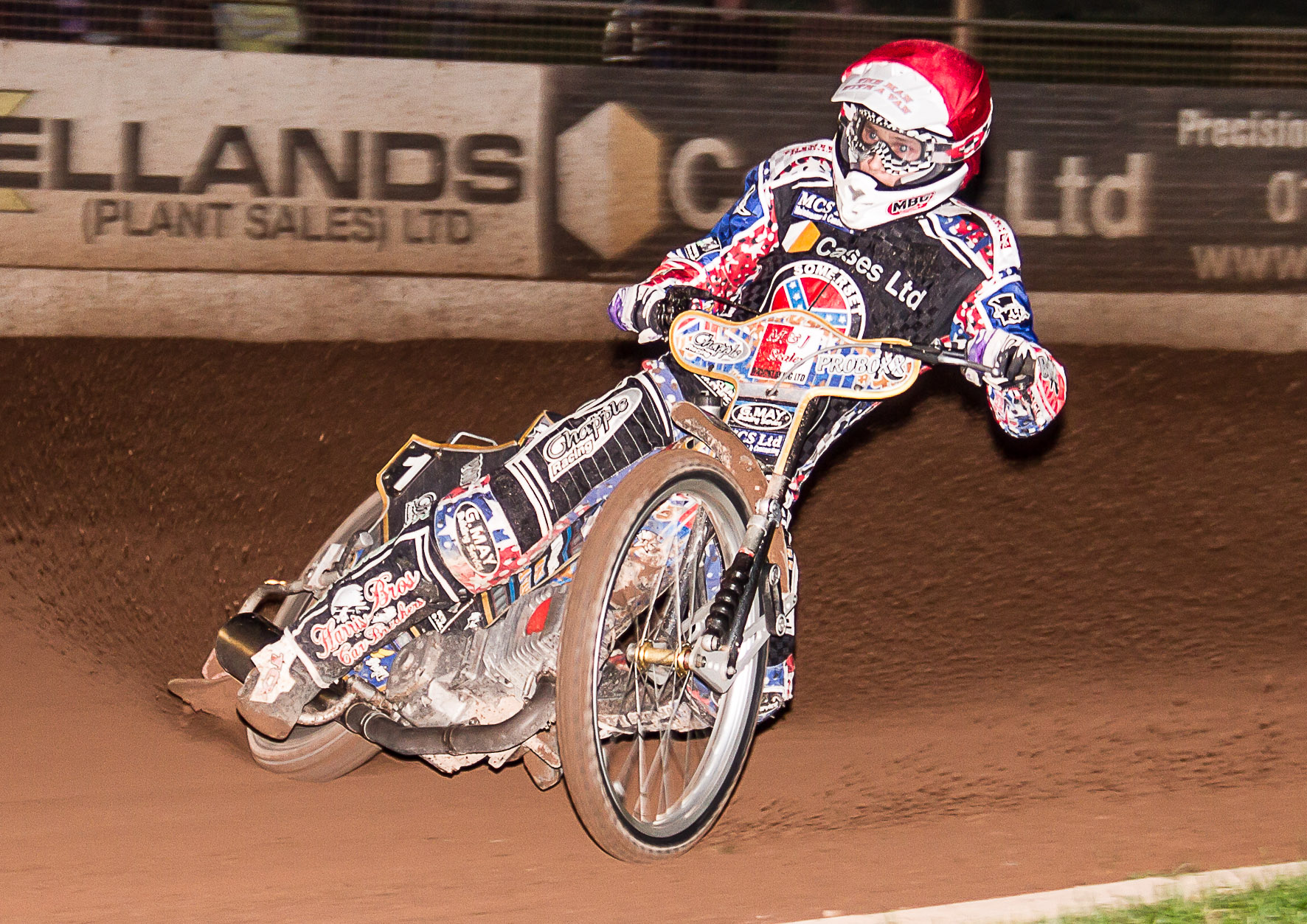 STAR: Jason Doyle in the colours of Somerset Rebels. Pic: Colin Burnett