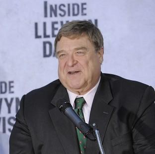 John Goodman addresses the crowd during a ceremony in Los Angeles (Chris Pizzello/Invision/AP)