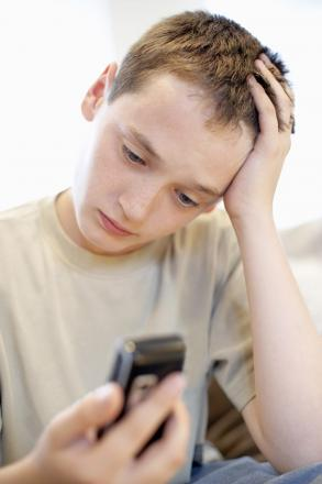 Thousands of children turn to ChildLine for help. Stock photo.