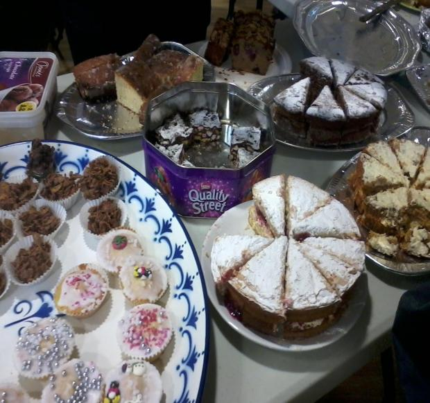 Cake sale to be held in East Huntspill