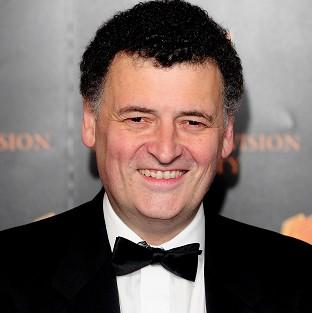 Steven Moffat joked that star Benedict Cumberbatch's real-life parents were cast in the show to continue the drama's