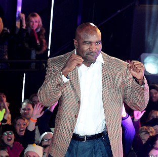 Evander Holyfield is evicted from the Celebrity Big Brother House