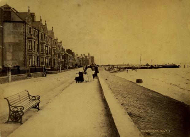 Burnham-on-Sea, Circa 1850. Photo: submitted.