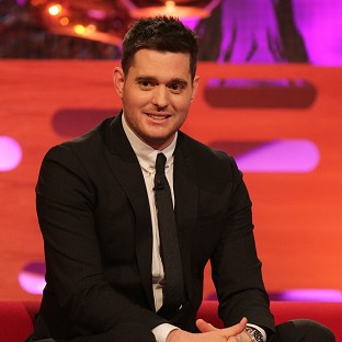 Michael Buble has had his son's name tattooed on his wrist