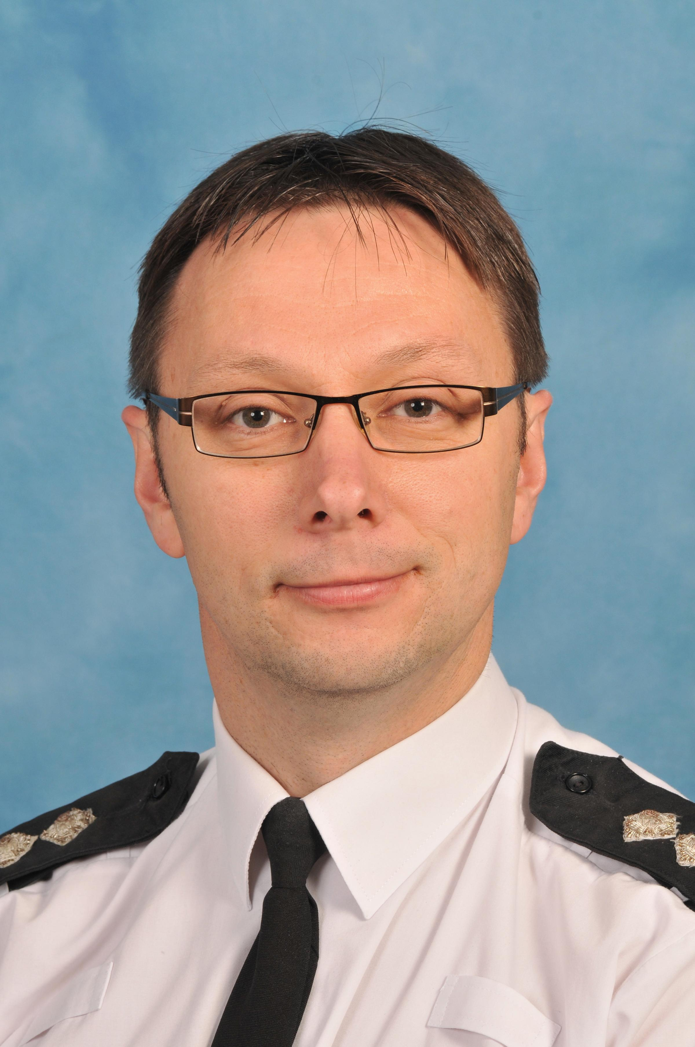 The new Neighbourhood Inspector for Sedgemoor Andy Pritchard has vowed to change people's perception of how safe Burnham is