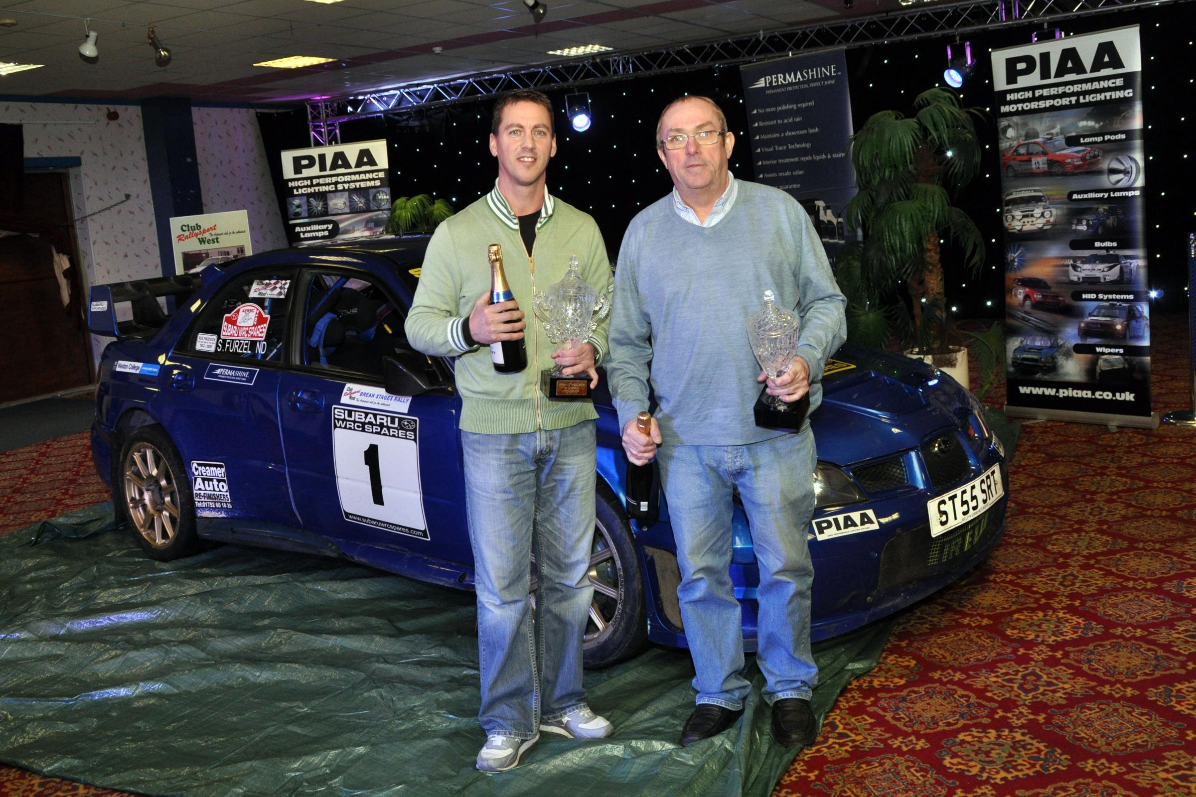Peter Lloyd motors to seventh race win at 2014 Brean Rally