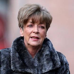 Burnham and Highbridge Weekly News: Coronation Street actress Anne Kirkbride arrives at Preston Crown Court
