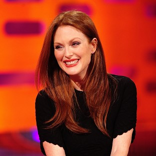 Julianne Moore appears on The Graham Norton Show