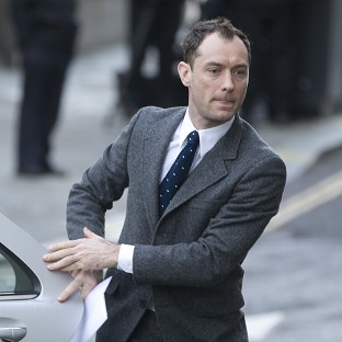 Jude Law appeared at the Old Bailey earlier this week
