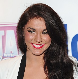 Vicky Pattison hurled her stiletto at a woman in a Newcastle bar