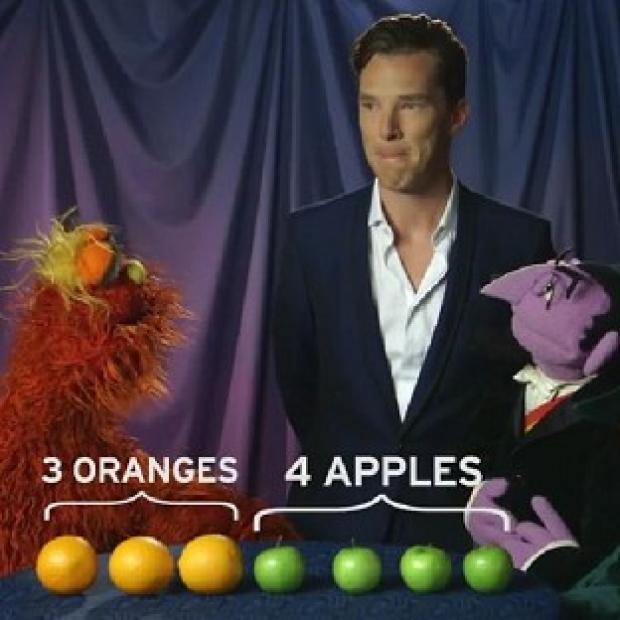 Burnham and Highbridge Weekly News: Benedict Cumberbatch gets fruity with Count von Count and Murray Monster