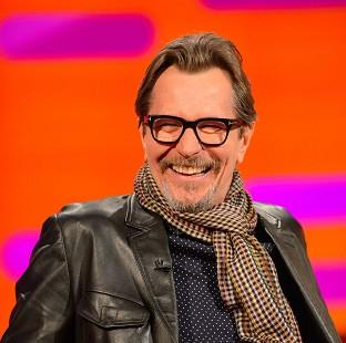 Gary Oldman has had to brush up on his accent