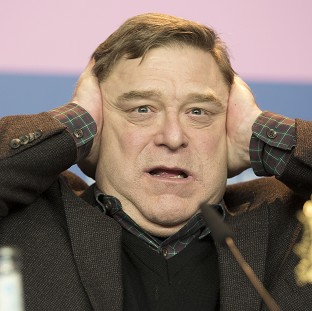 John Goodman had lots of laughs on The Monuments Men set
