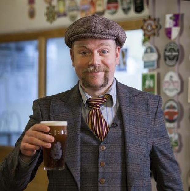 Burnham and Highbridge Weekly News: Rufus Hound had to shave off his moustache
