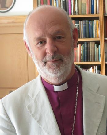 The Bishop of Taunton, the Rt Rev Peter Maurice.