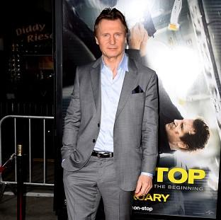 Burnham and Highbridge Weekly News: Liam Neeson at the premiere of his latest film Non-Stop in Los Angeles