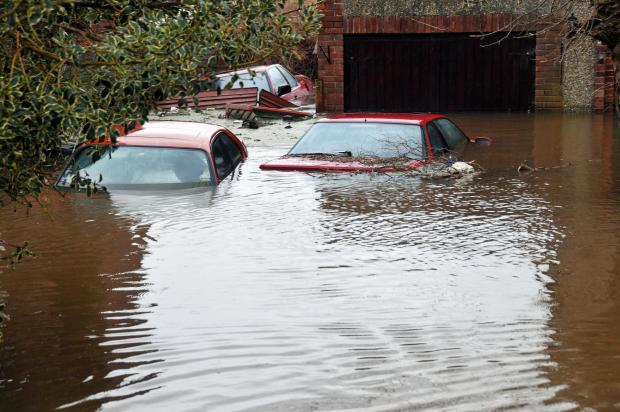 Burnham and Highbridge Weekly News: Somerset floods - Muchelney emergency transport service 'stood down'