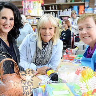 Lesley Joseph, left, Linda Robson, centre, and Pauline Quirke star in the revived sitcom