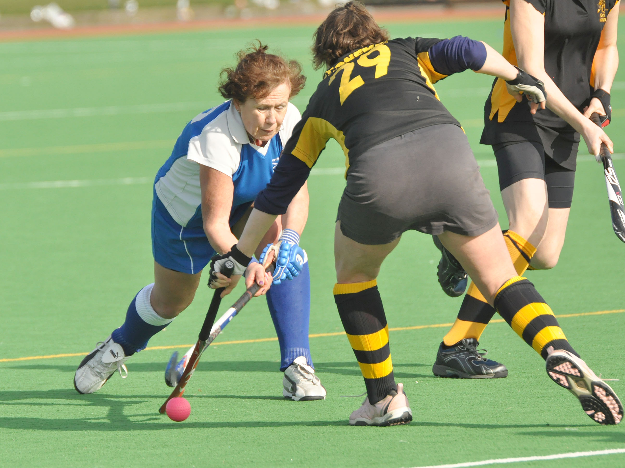 HOCKEY: Quick start fires Burnham to victory