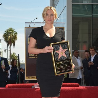 Kate Winslet was overwhelmed by her star on the Hollywood Walk of Fame