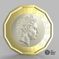 Burnham and Highbridge Weekly News: The new one pound coin announced by the Government will be the most secure coin in circulation in the world (HM Treasury/PA)