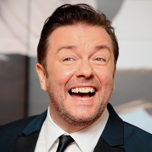 Ricky Gervais says he loved singing in Muppets Most Wanted