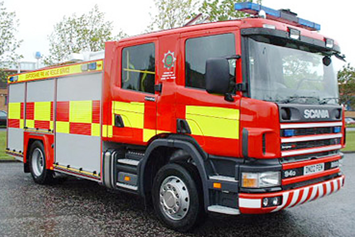 Fire crews tackle mile-long fire on Exmoor