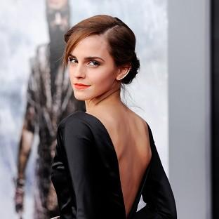 Emma Watson played it safe in black at the New York premiere of Noah