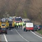 Burnham and Highbridge Weekly News: 29/3/214 : A358 Traffic Accident