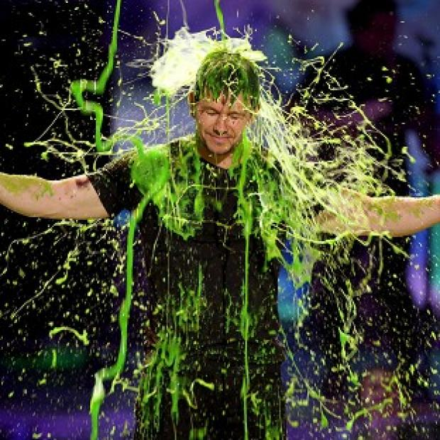 Burnham and Highbridge Weekly News: Mark Wahlberg gets slimed at the Kids' Choice Awards in Los Angeles (Invision/AP)