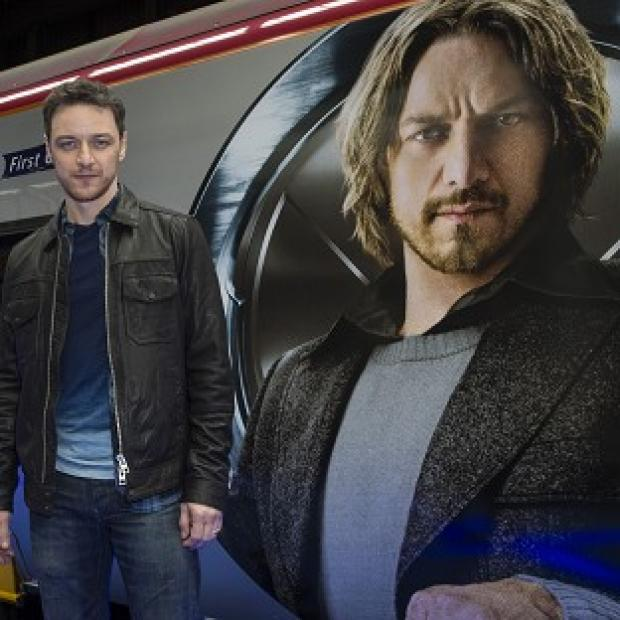 Burnham and Highbridge Weekly News: James McAvoy liked working with Sir Patrick Stewart on the new X-Men film