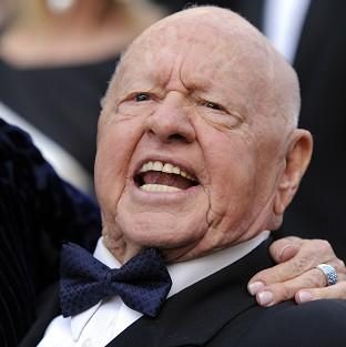 Mickey Rooney has left most of his estate to the stepson who cared for him in his last years