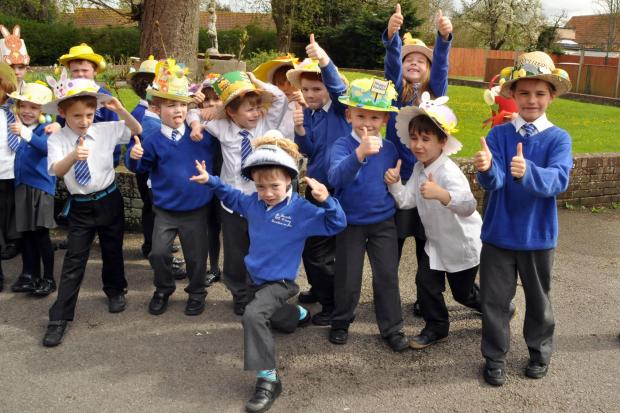 Thumbs up for St Joseph's children's handiwork