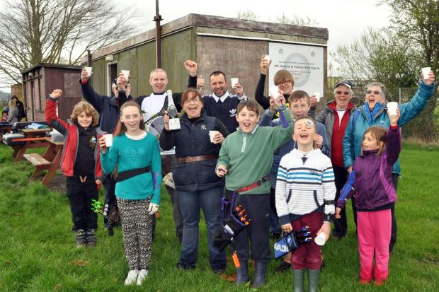 Burnham archers celebrate their new clubhouse funding