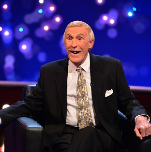 Sir Bruce Forsyth said he got 'tired doing live telly'.
